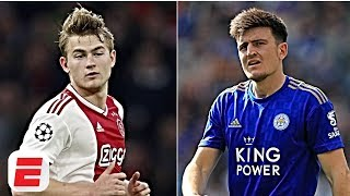 Man City's summer targets: Harry Maguire, De Ligt & more | Transfer Rater