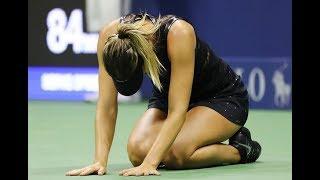 [HD] Simona Halep Vs Maria Sharapova US Open 2017 Highlights