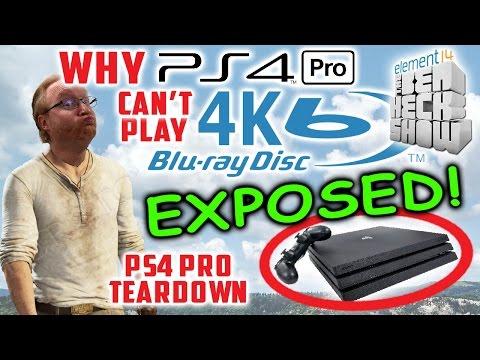 Ben Heck's PS4 Pro Teardown