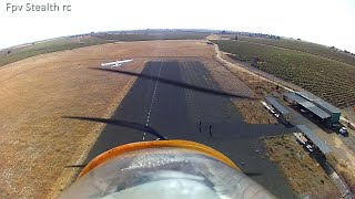 Flight of gliders in couple Fpv Fox and Skycruise 2000