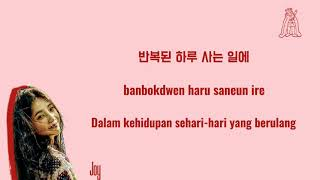 Be There For You - Joy {Red Velvet} (Lyrics And Sub Indonesia)