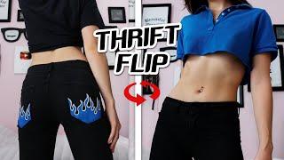 RENOVANDO MI ROPA VIEJA *thrift flip* 🔥 Argentina
