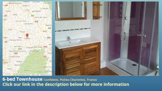 preview picture of video '6-bed Townhouse for Sale in Confolens, Poitou Charentes, France on frenchlife.biz'