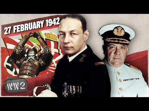 Japonsko drtí Spojence v největší námořní bitvě za posledních několik desetiletí - Druhá světová válka