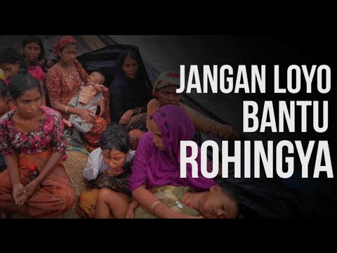 Jangan Loyo Bantu Rohingya