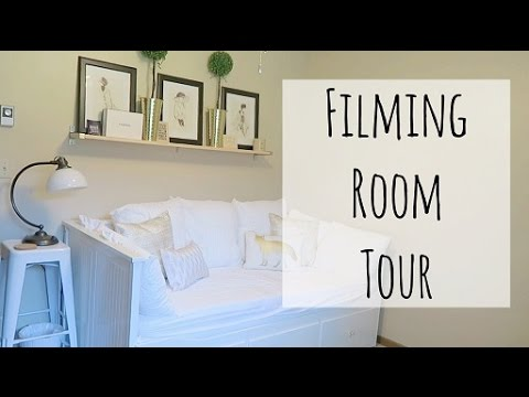 Filming Room Tour