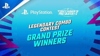 PlayStation Tony Hawk's Pro Skater 1+2 - Legendary Combo Contest Winners | PS4 anuncio