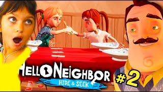 ДЕТИ СОСЕДА ИГРАЮТ В ПРЯТКИ #2 Пока ПАПА СПАЛ Hello Neighbor ПРИВЕТ СОСЕД Валеришка Для детей kids