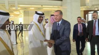 Qatar: Erdogan greeted by Qatari Emir in Doha on final leg of Gulf tour