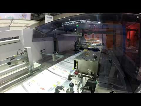 Automatisierung in der Druckweiterverarbeitung mit einem Parallelroboter