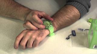 Ice Watch Unboxing, Review - Ice-Glow - Glow green