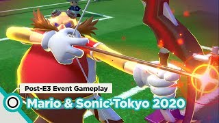 [E3 2019] Mario & Sonic at the Tokyo 2020 Olympic Games - Single-Player Gameplay