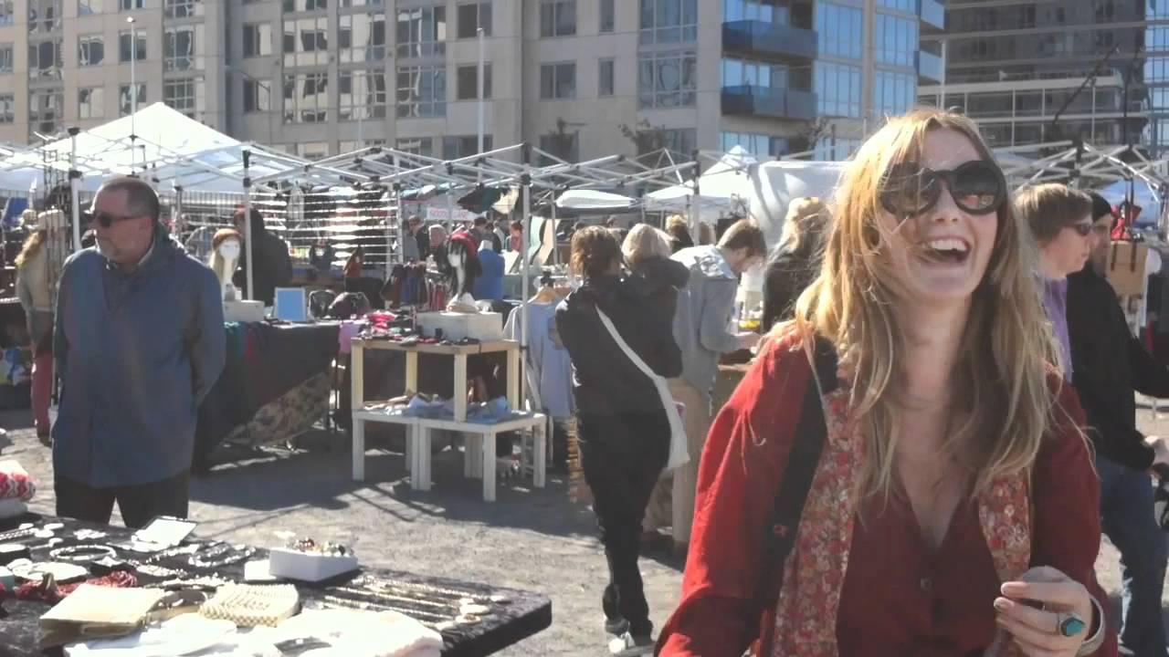 Flea Market Shopping in Brooklyn