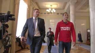 Владимир Кличко пришел в Верховную Раду
