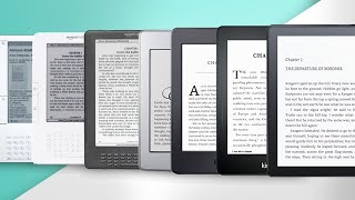 Amazon Kindle 10 Year Anniversary Timeline