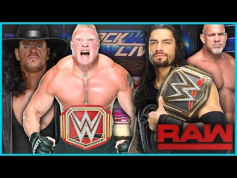 WWE BREAKING NEWS: WWE'S LEAKED PLANS FOR AFTER WM33 (Brock Lesnar, Undertaker, Roman Reigns)