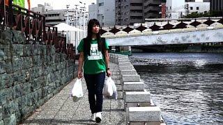 そらなさゆりの「べっぴん一本釣り」第3話徳島市中心部