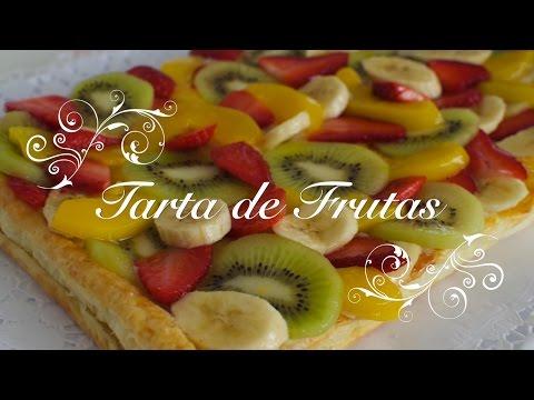 Tarta de Frutas con Crema Pastelera | Tartaletas de Frutas con Crema Pastelera | Pastel de Frutas