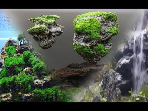 3 ideas geniales para tu acuario/ Cascada de arena/ Rocas flotantes/ Aquascaping
