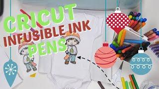 Cricut Infusible Ink Pens | Blending And Digi Stamps