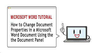 How To Change Document Properties Using the Document Panel in Microsoft Word