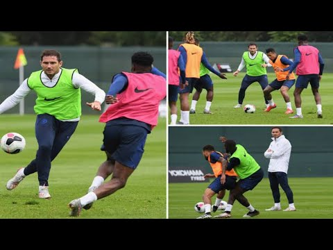 Christain pulisic join chelsea training in japan HD 2019