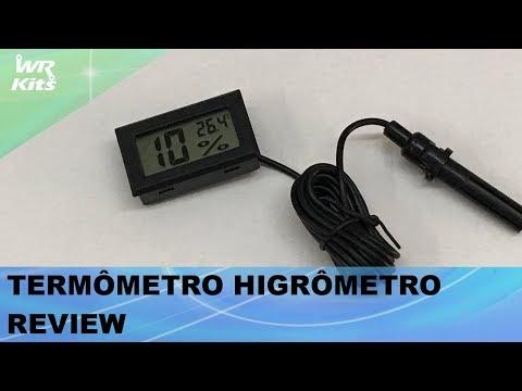 TERMÔMETRO HIGRÔMETRO REVIEW