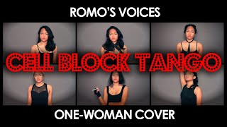 "Romo's Voices: ""Cell Block Tango"" One-Woman Cover - Chicago Broadway Musical"