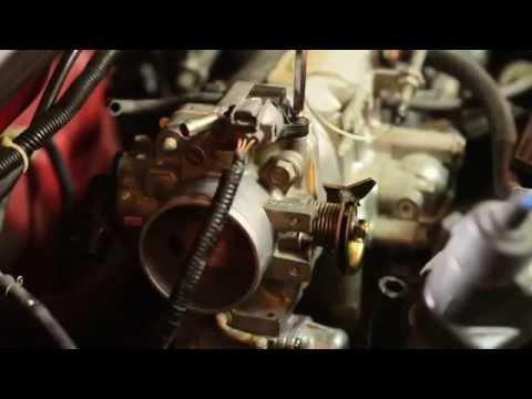 Фото к видео: H22 Honda Prelude FITV Clean Up / чистка клапан быстрых прогревочных оборотов
