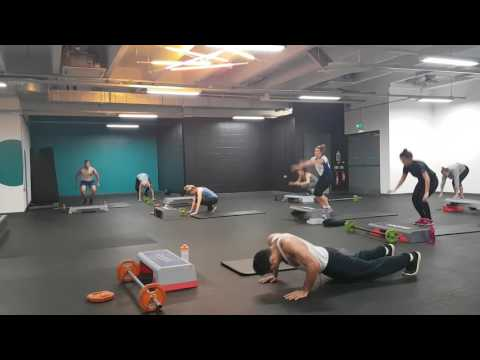 Pure boot camp, full body fat burn at pure gym Manchester
