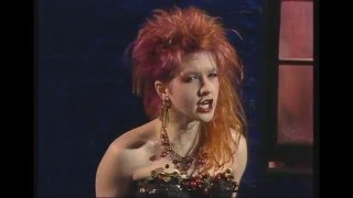 Cyndi Lauper  - Girls Just Wanna Have Fun ( TV Show Germany ) rare perfomance