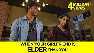 When Your Girlfriend is ELDER than you | English Subtitles | Awesome Machi
