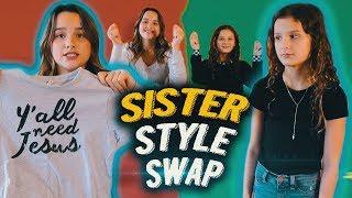 Sister Style Swap   Hayley LeBlanc & Annie LeBlanc
