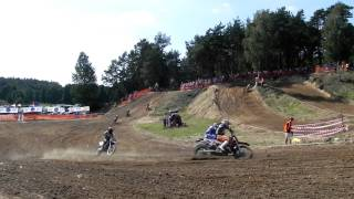 preview picture of video 'Lipno Motocross 21.08.2011'