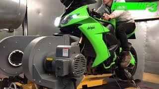 Kawasaki ZX10R Blipper and Full Custom ECU mapping using Woolich