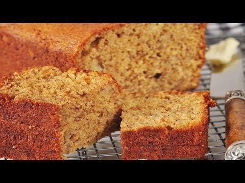Video Low Fat Banana Bread Recipe Demonstration - Joyofbaking.com