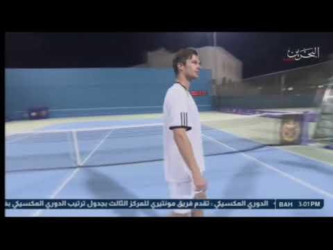 تقرير حول حضور معالي وزير الداخلية المباراة النهائية لبطولة التنس 2018/4/24