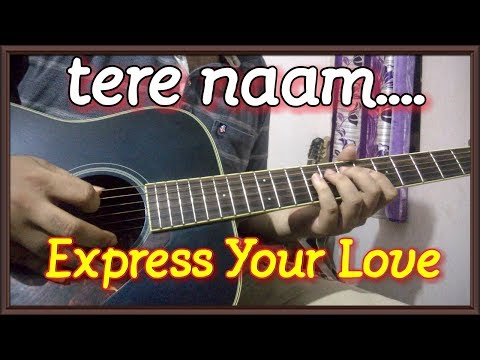 TERE NAAM | Easy Guitar Theme For Beginners - Guitar Tabs