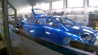 ► China Ford Manufacturing Plant - Ford Focus sedan