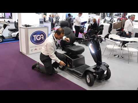 TGA: introducing the quality yet cost effective Vita E mobility scooter YouTube video thumbnail