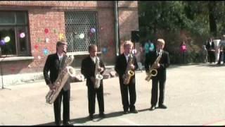 The Pink Panther - Saxophone Quartet LaDoS