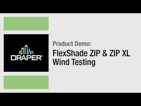 FlexShade Zip & Zip XL Wind Testing