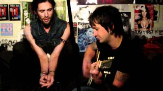 "The All-American Rejects performing ""The Wind Blows"" acoustic on Live With DJ Rossstar"