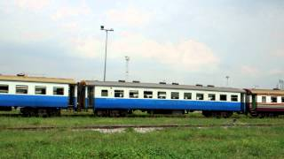 preview picture of video 'タイ国鉄バンスー操車場 Thailand Railway Bang Sue Depot'