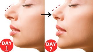 How To Get Straight , Slim and Sharper Nose/ Beauty Tips In Hindi