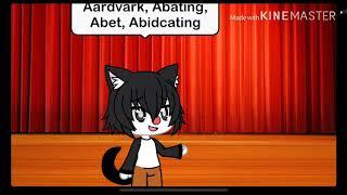 Yakko sings all the words in the English language