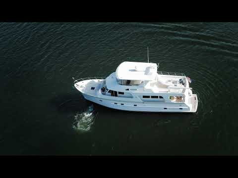 Outer Reef 650 Motor Yacht video