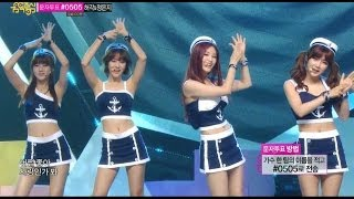 【TVPP】Rainbow - Sunshine (Marine Ver.), 레인보우 - 선샤인 @ Show! Music Core Live