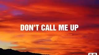 Mabel   Don't Call Me Up ( Lyrics Video )