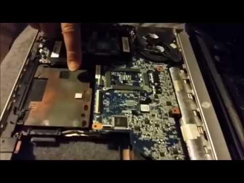 Disassemble HP Laptop dv6 Overheating Loud Fan Fix